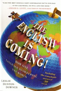 Book jacket The English Is Coming