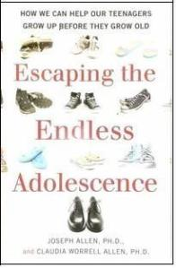 Cover of Escaping the Endless Adolescence