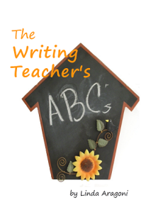 Cover of The Writing Teacher's ABCs
