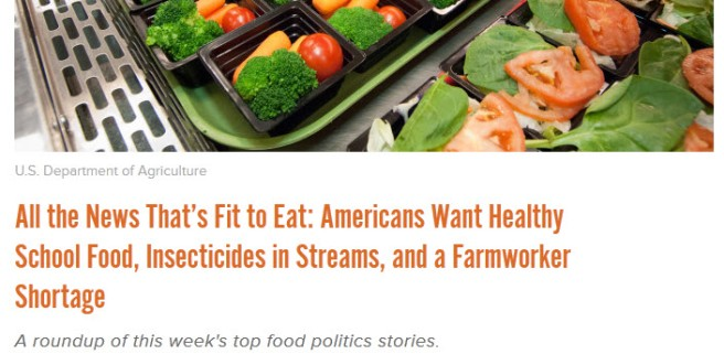 photo of vegetable products above headline about what Americans want in food and the food chain