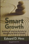 dust jacket of Smart Growth by Edward D. Hess