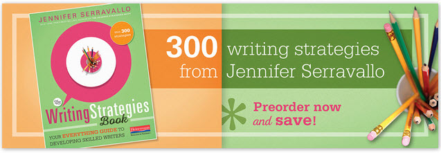 advertisement for book 300 Writing Strategies