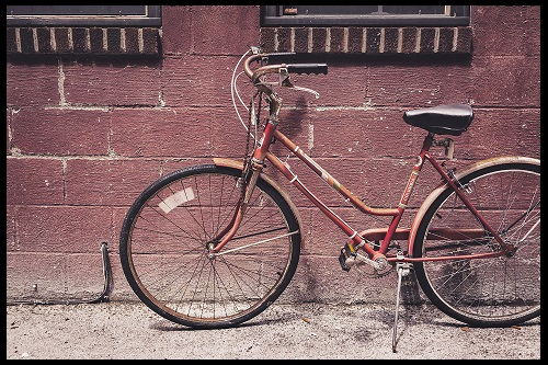 girl's multi-speed bicycle