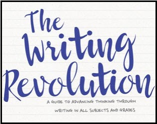 Title and subtitle from cover of The Writing Revolution