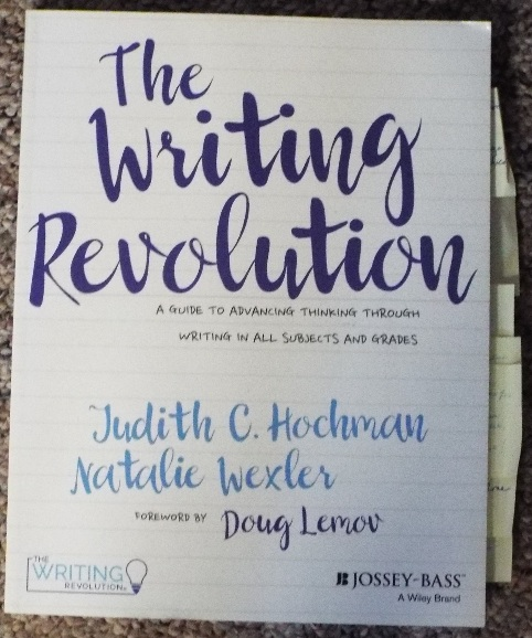 book: The Writing Revolution