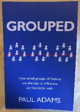 Groups of eight figures loosely linked by small thread
