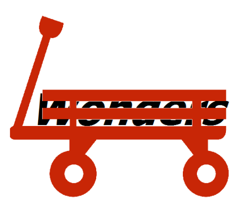 the title Wonders is on the cart.
