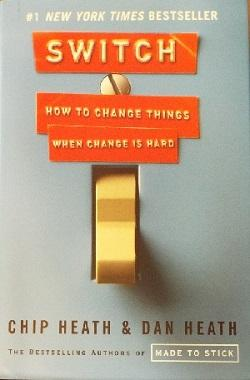 Dust jacket image on Switched shows an electrical switch.