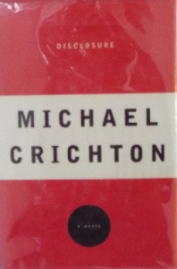 cover of Crichton novel that suggested the writing prompt