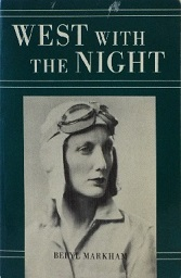 Beryl Markham in aviator attire