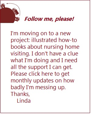follow Linda to new book project
