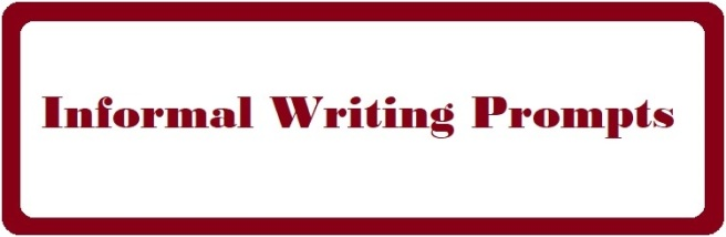 Sign: Informal Writing Prompts