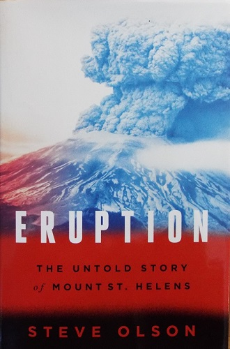 photo of the eruption of Mount St. Helens.